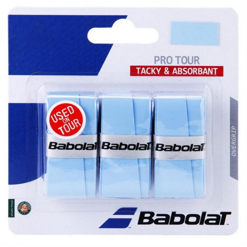 BABOLAT GRIP PRO TOUR ZUTI X 3