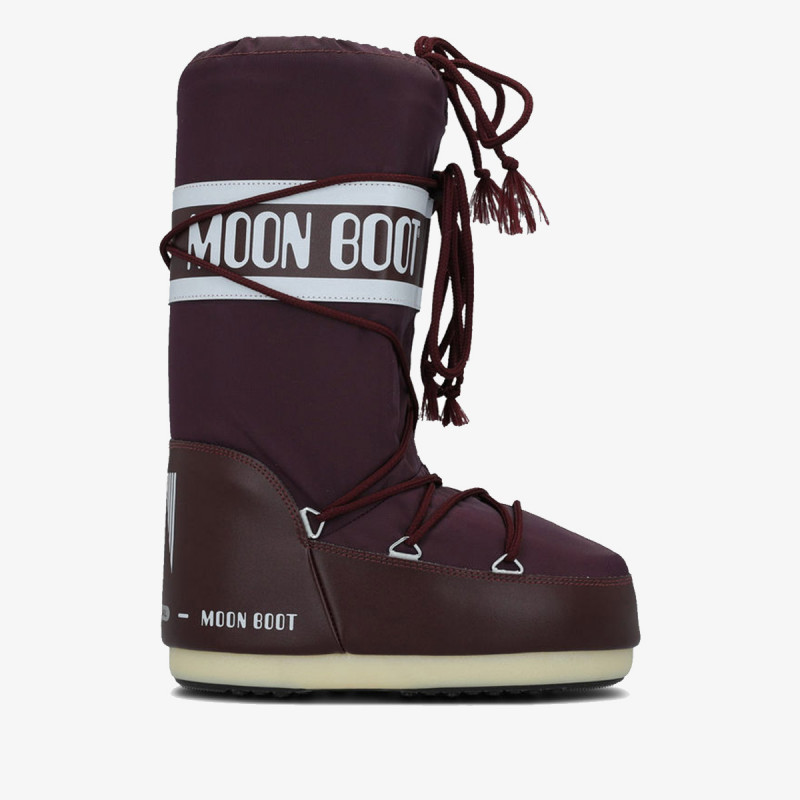 MOON BOOT MOON BOOT NYLON BURGUNDY