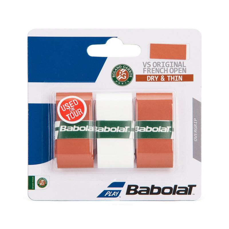 BABOLAT GRIP VS ORIGINAL RG belo-clay x 3