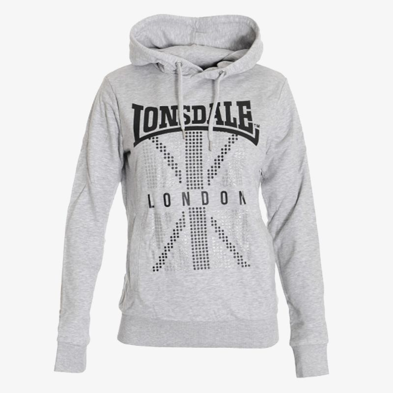 LONSDALE LADY F19 FLAG HOODY