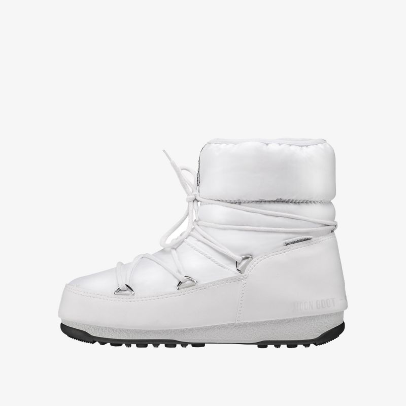 MOON BOOT MOON BOOT LOW NYLON WP 2 WHITE