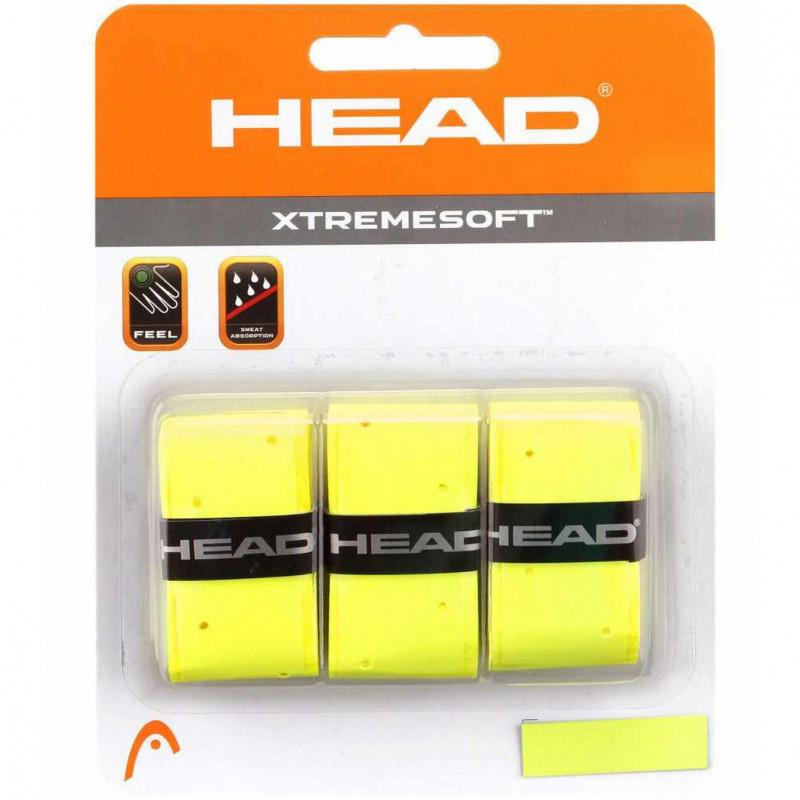 HEAD XTREMESOFT GRIP OVERWRAP 1/3 ZUTI