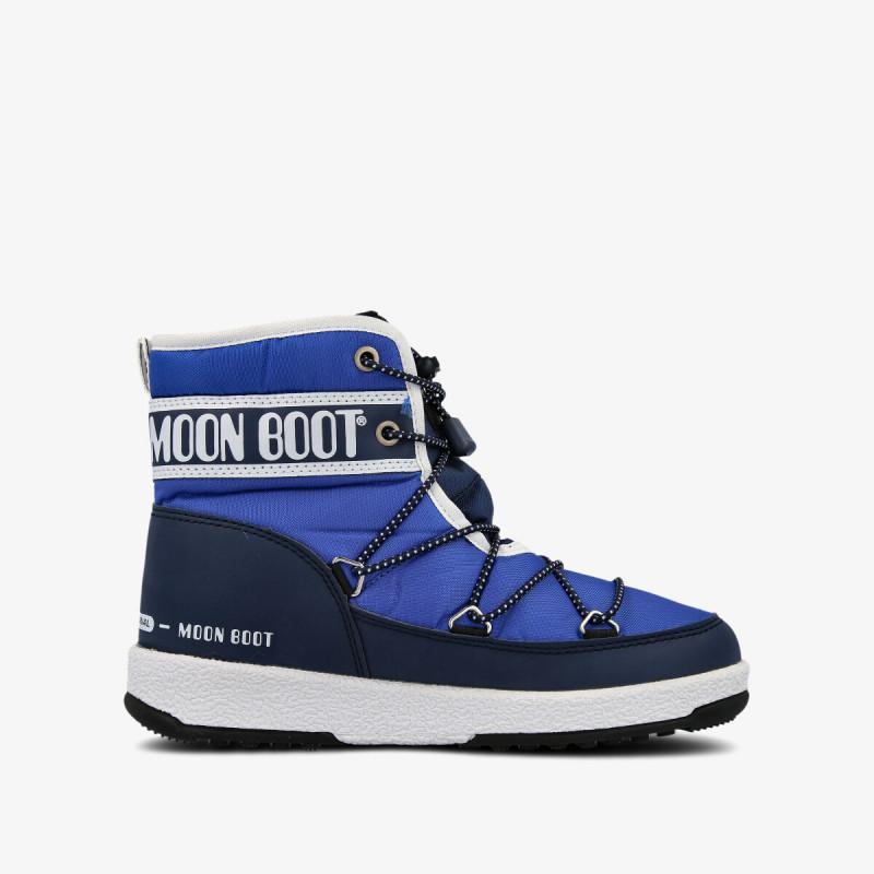 MOON BOOT MOON BOOT JR BOY MID WP ROYAL NAVY/BLUE