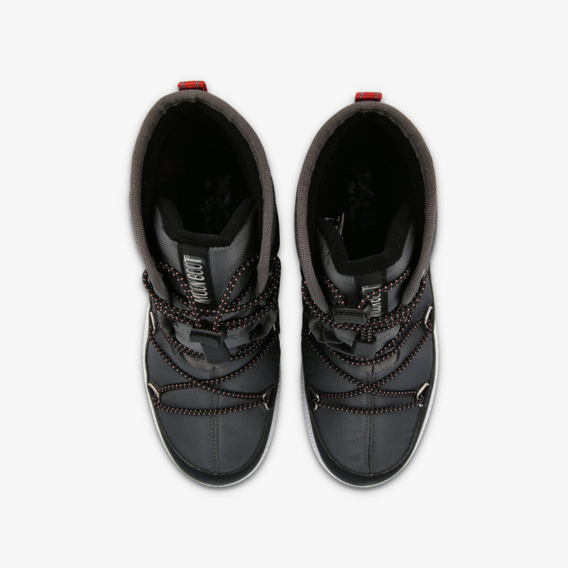 MOON BOOT MOON BOOT JR BOY MID WP BLACK-CASTLEROCK