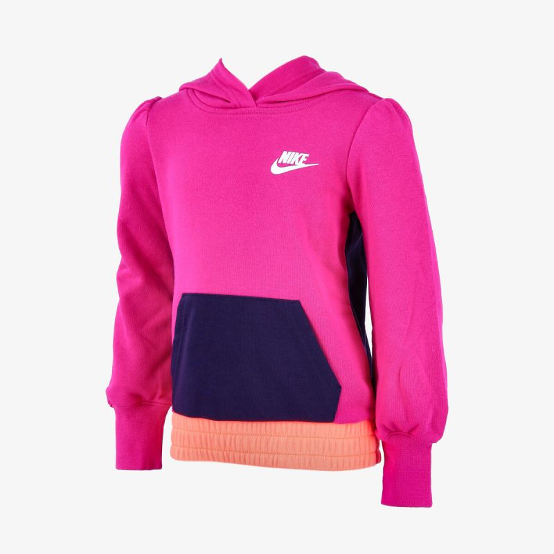 NIKE Little Kids' French Terry Pullover Hoodie