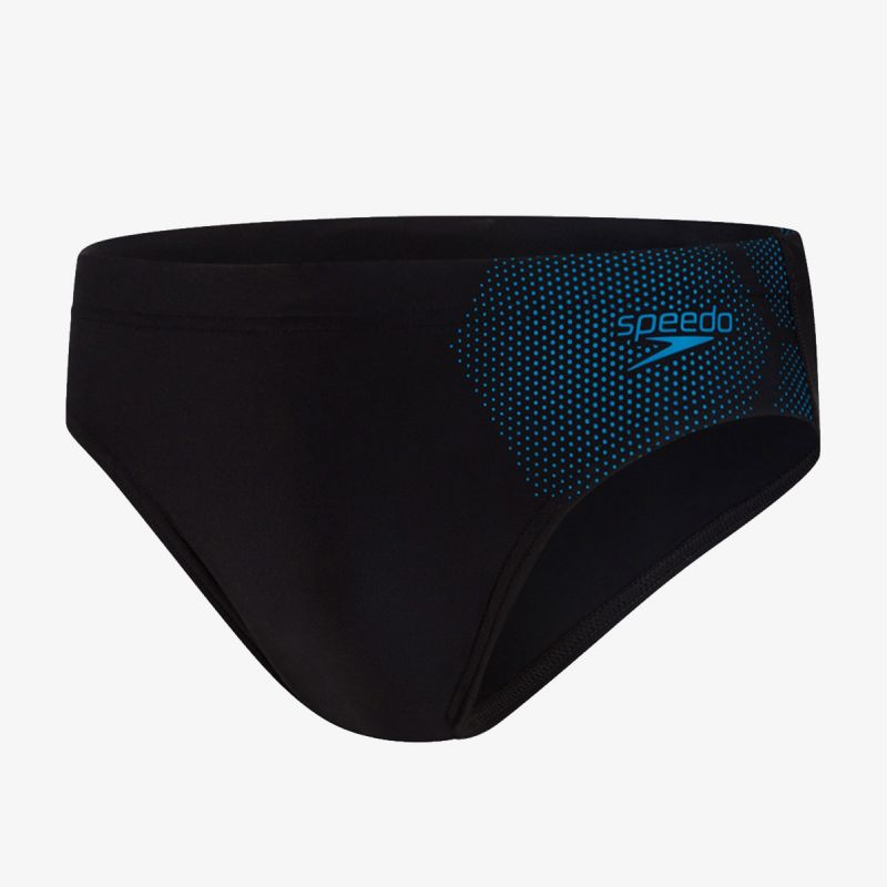 SPEEDO TECH LOGO 7CM BRF AM BLACK/BLUE