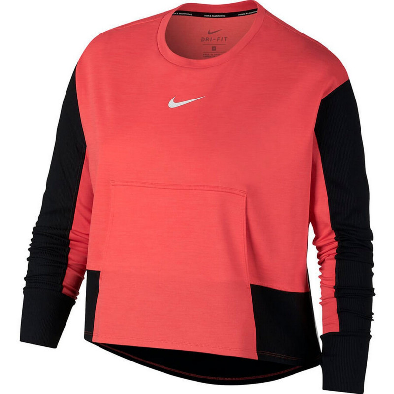 NIKE W NK TOP PACER CREW SD GX