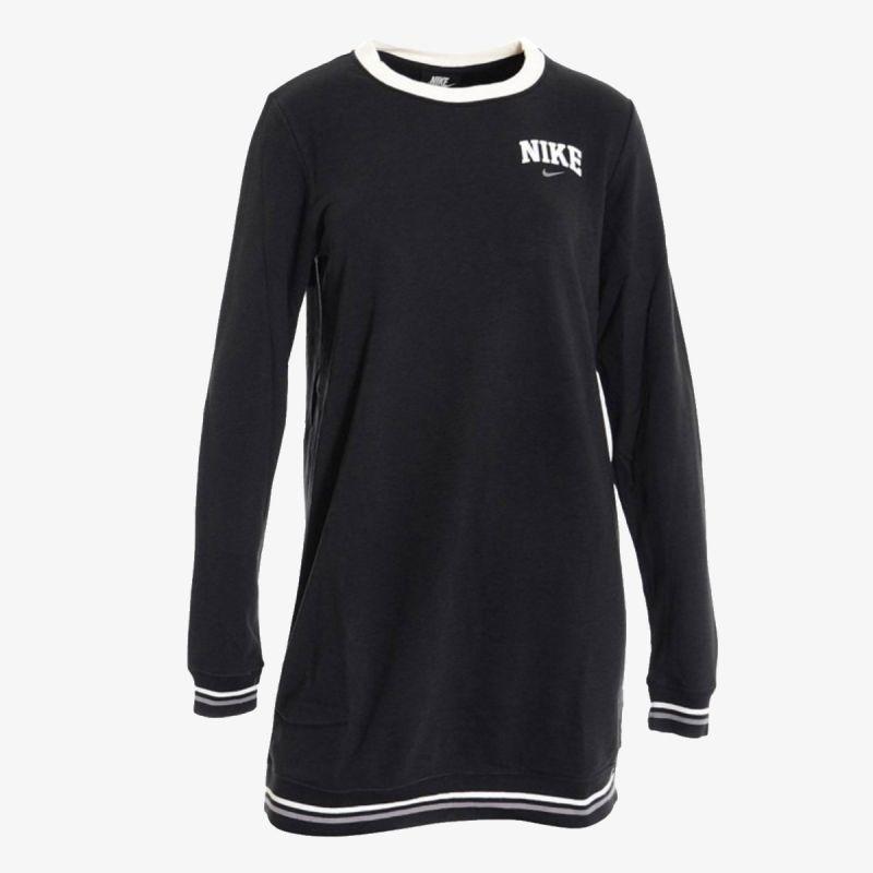 NIKE Nike W NSW DRESS LS FLC VRSTY