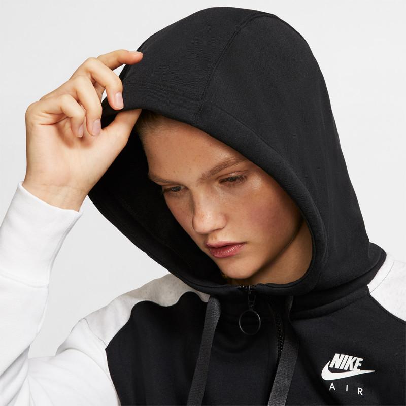 nike w nsw air hoodie fz bb