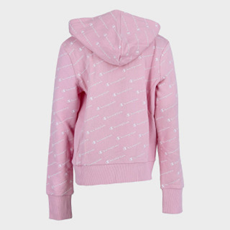 CHAMPION GIRLS ALL OVER FULL ZIP HOODY