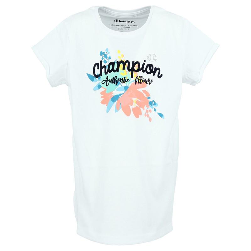 CHAMPION FLOWER T-SHIRT