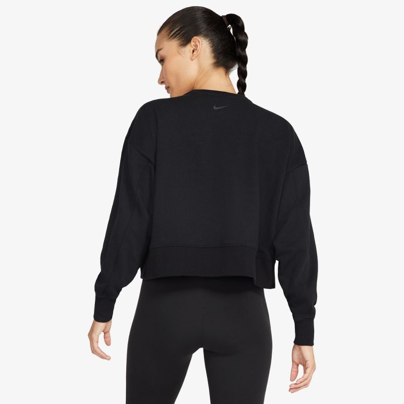 NIKE Nike Dri-FIT Get Fit Women's Fleece Sparkle Training Top