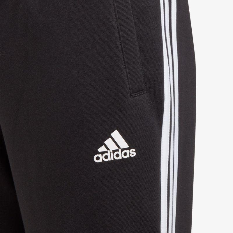 adidas 3-STRIPES DOUBLEKNIT TAPERED LEG PANTS