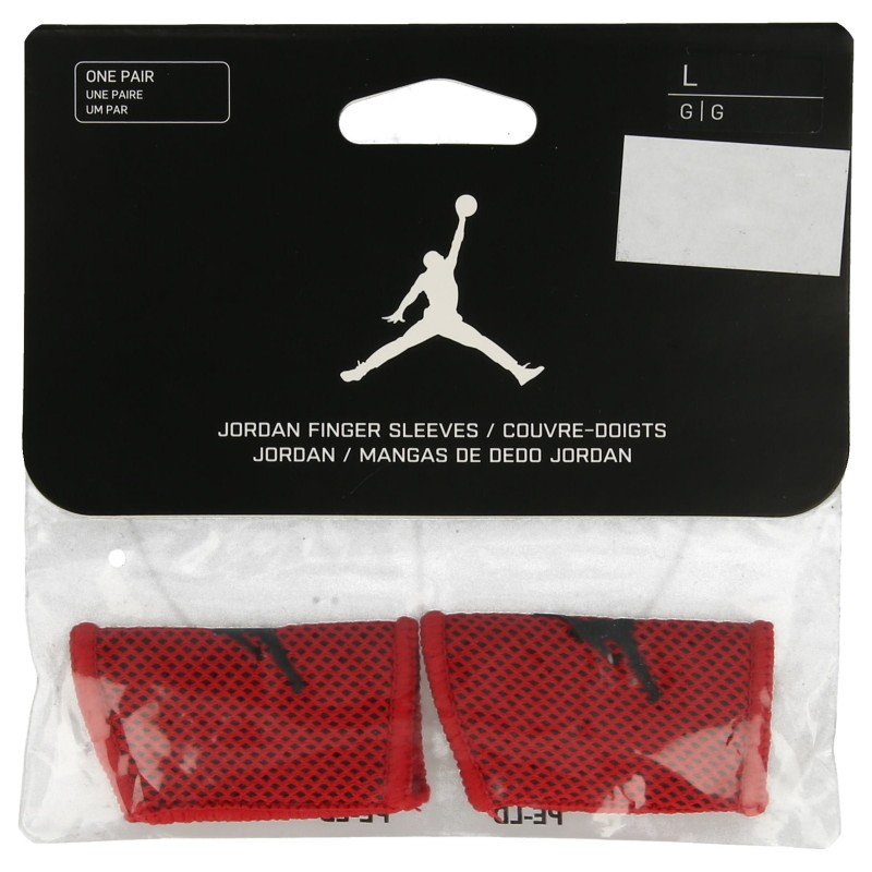 NIKE JORDAN FINGER SLEEVES M GYM RED/BLACK