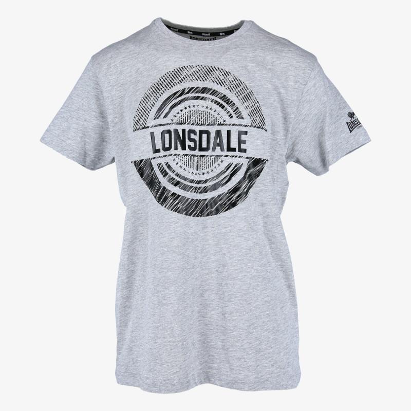 LONSDALE BLACK LOGO TEE