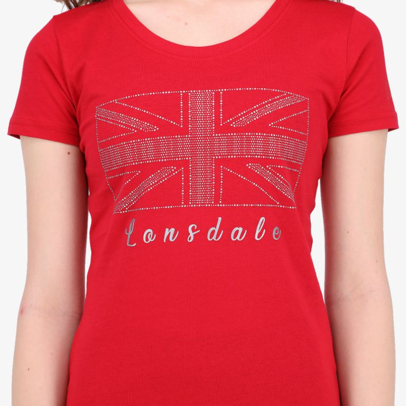 LONSDALE LONSDALE RETRO LADY T-SHIRT