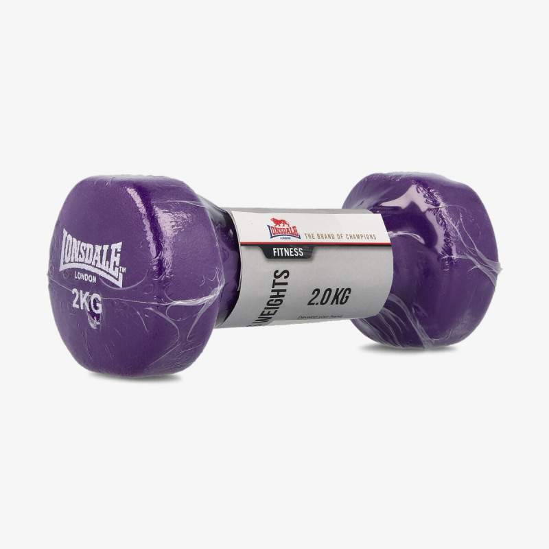 LONSDALE LNSD FITNESS WEIGHTS 2kg