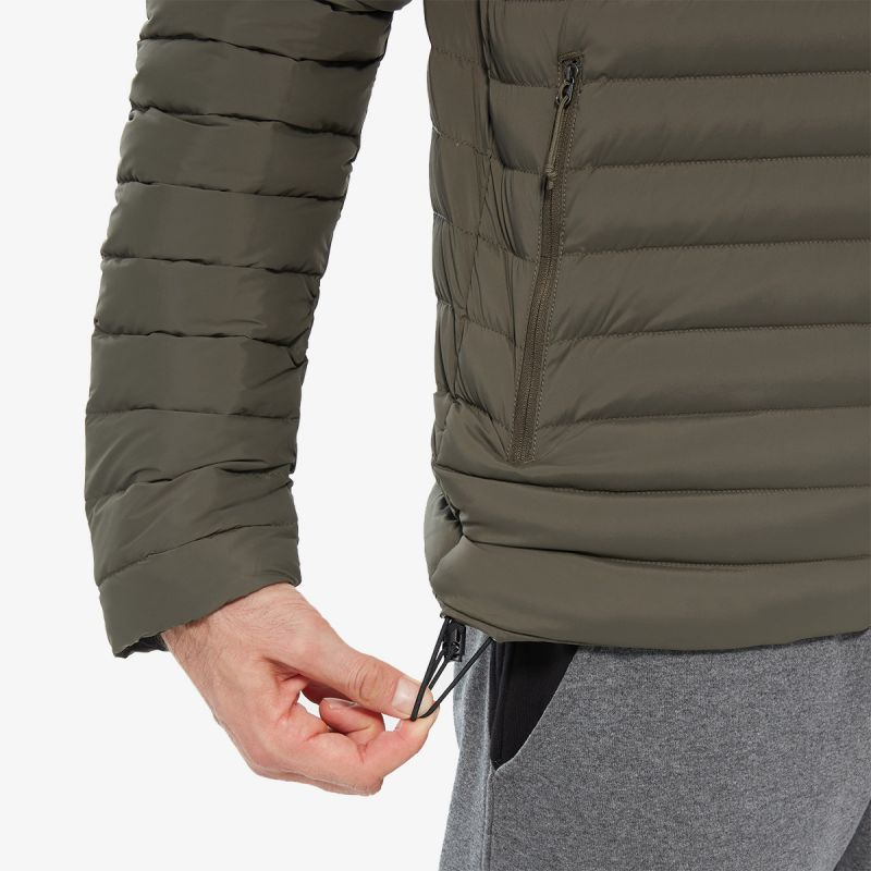THE NORTH FACE M STRETCH DOWN HOODIE