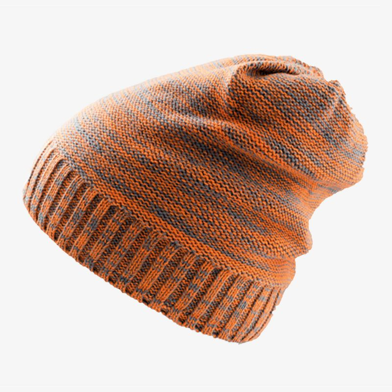 ATLANTIS Kapa SCRATCH beanie 100%acr orange grey