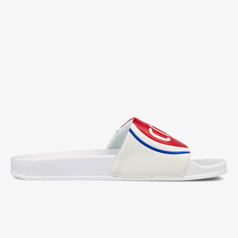 COLMAR SLIPPER LOGO WHITE